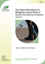 Liley et al. - 2010 - The Solent Disturbance and Mitigation Project Phas